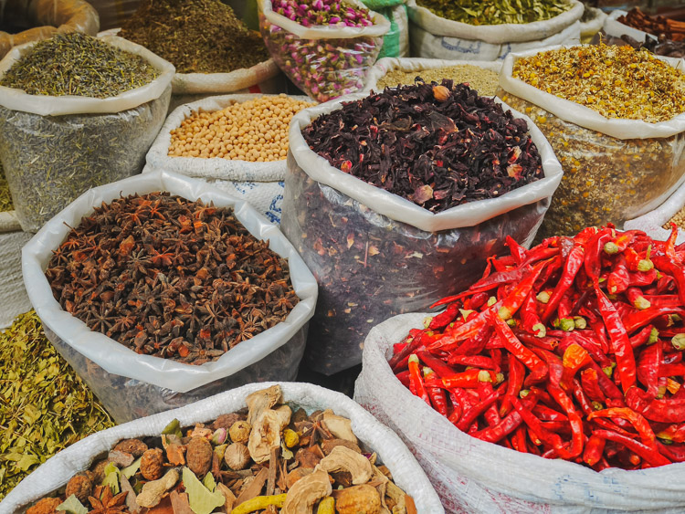Rondreis Koningsteden marokko winkelen
