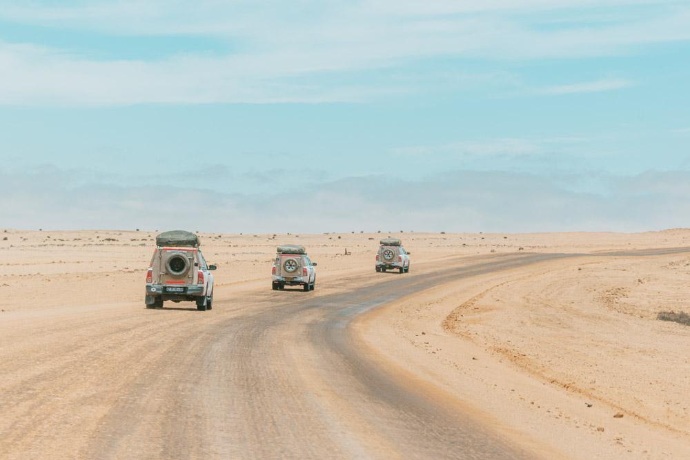 Rondreis Namibie route