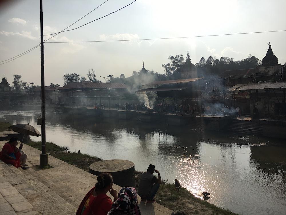 Rondreis Nepal route Pashupatinath