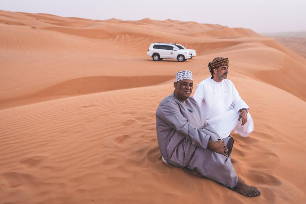 Rondreis Oman Desert Flower Tours onze gidsen