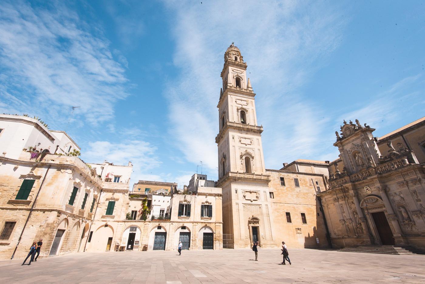Rondreis Puglia Lecce piazza del duomo