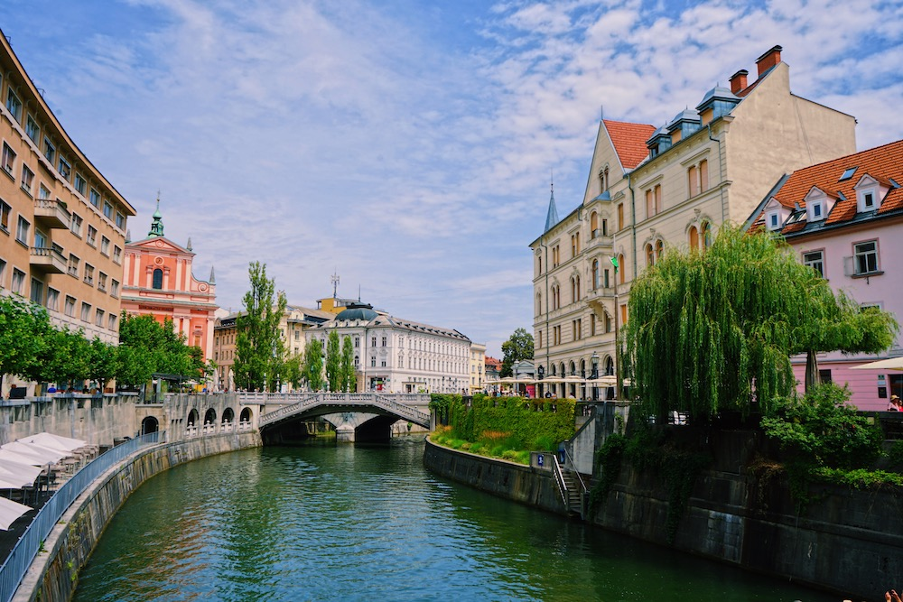 Ljubljana rondreis Slovenie