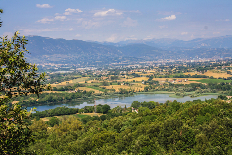 Rondreis Umbrie uitzicht italie