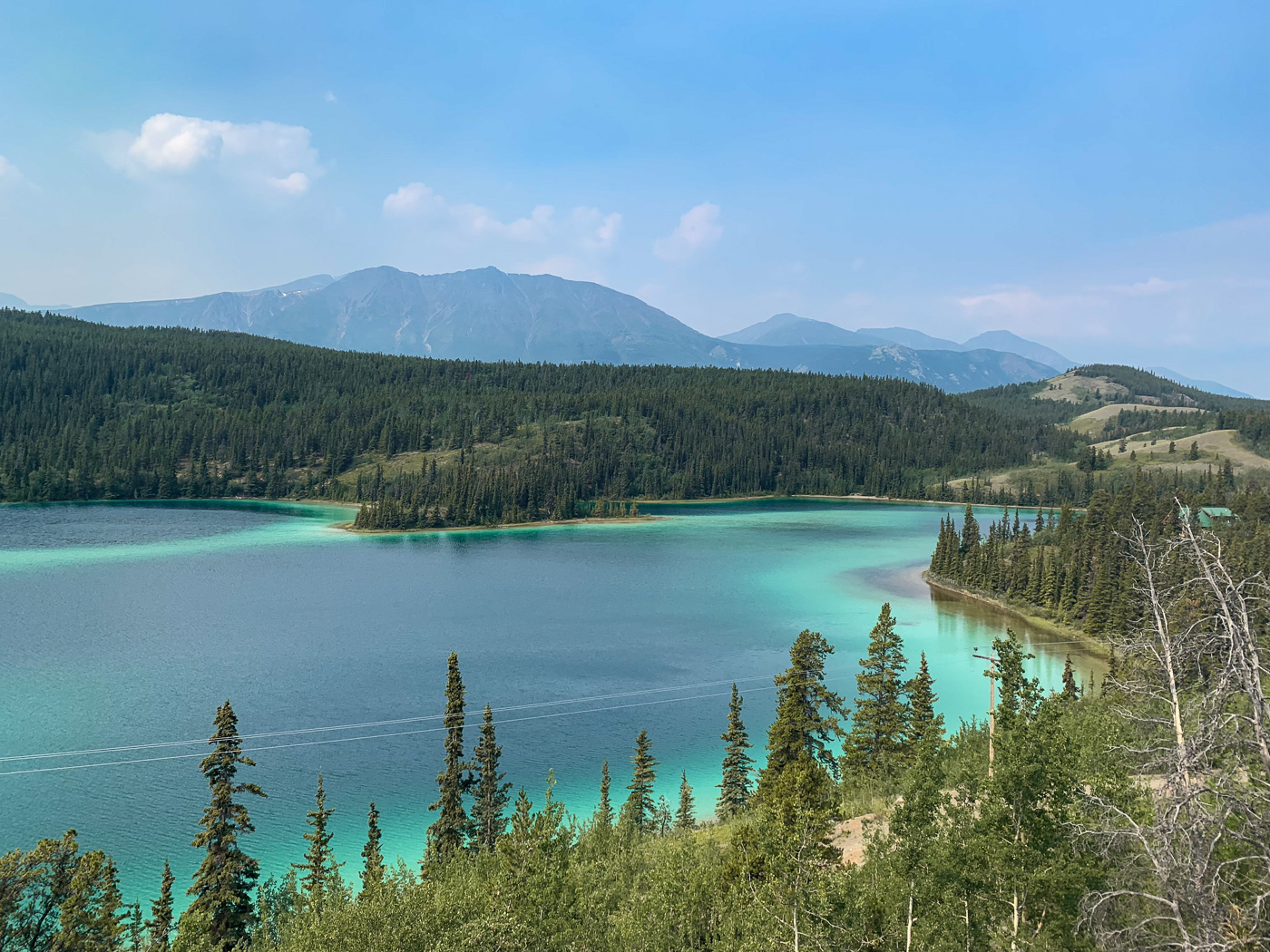 Rondreis Yukon Emerald Lake