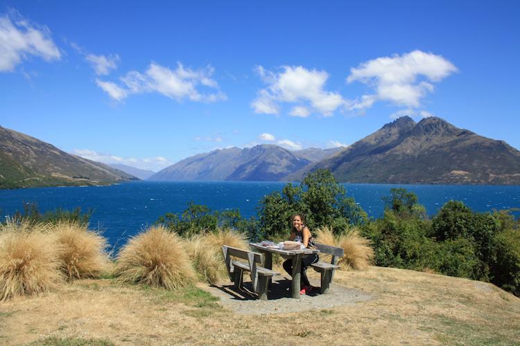 Rondreis Zuidereiland Nieuw-Zeeland Picknicken eten