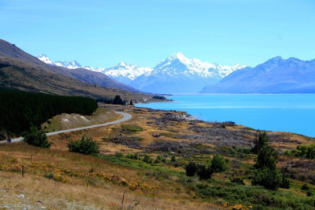 Rondreis Zuidereiland Nieuw Zeeland Pukaki