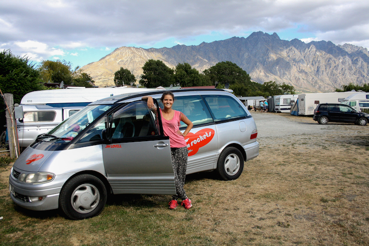 Rondreis Zuidereiland Nieuw-Zeeland auto huren camper van