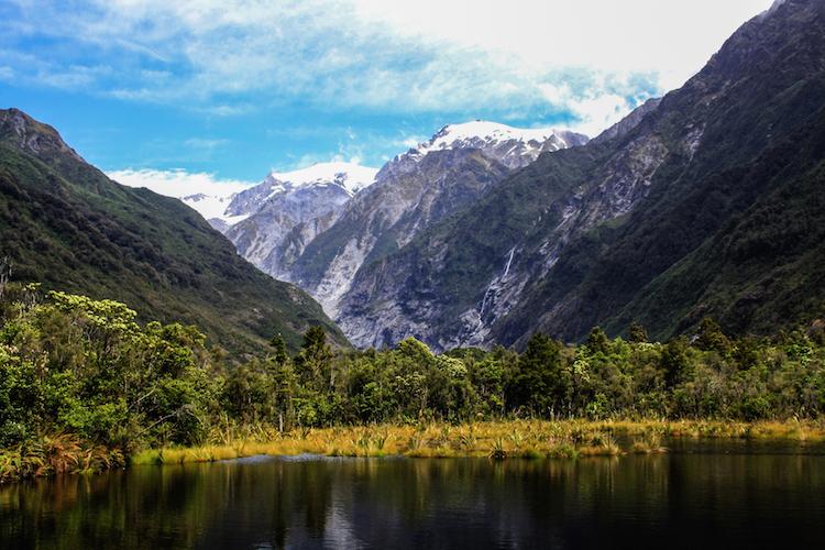 Rondreis Zuidereiland Nieuw-Zeeland hoogtepunten Franz Josef gletsjer.JPG