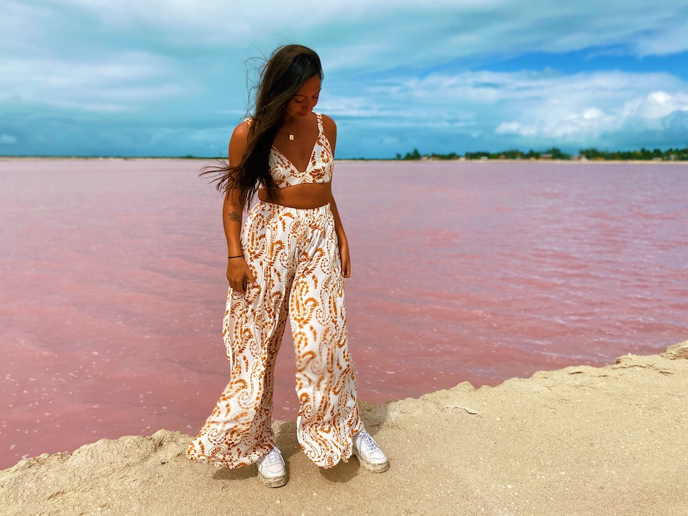 rondreis mexico yucatan roze meer