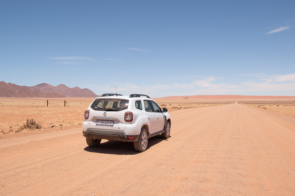 Rondreis namibie huurauto