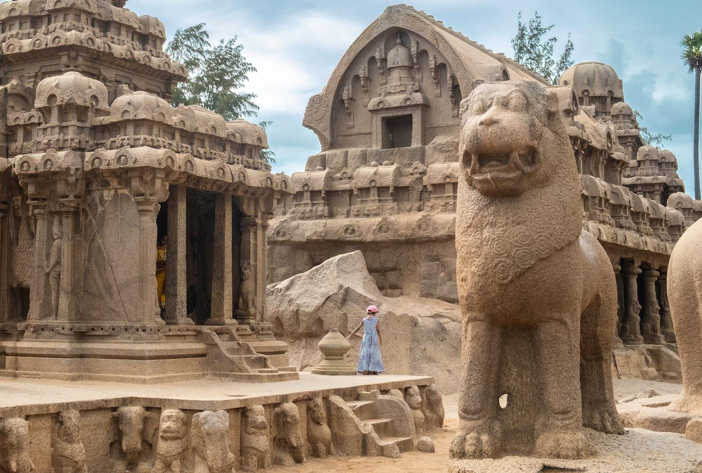 Rondreis zuid-india mahabalipuram