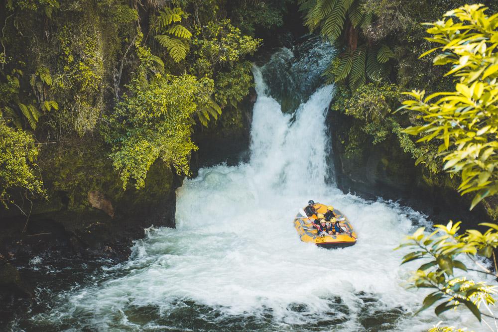 Rotorua Raften in nieuw zeeland