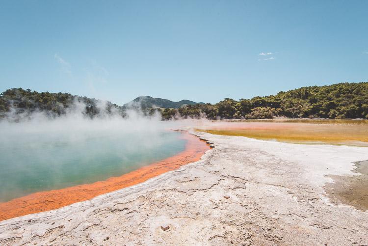 Rotorua in Nieuw Zeeland Champange Pool
