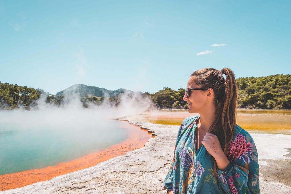 Rotorua in Nieuw Zeeland Wai-O-Tapu