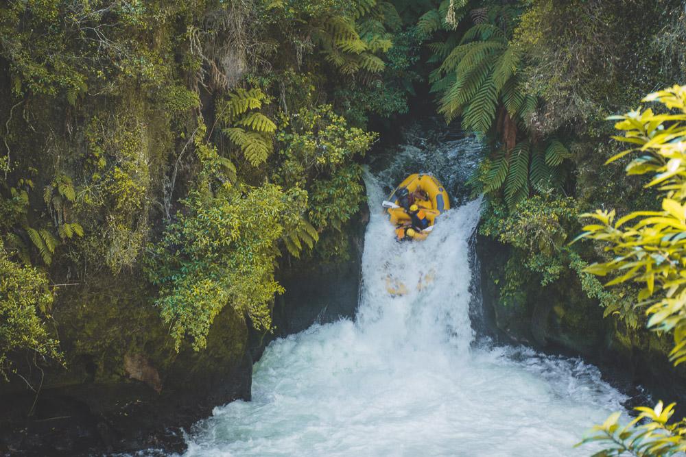 Rotorua raften Okere Falls