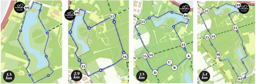 Route Bomenpark Oss