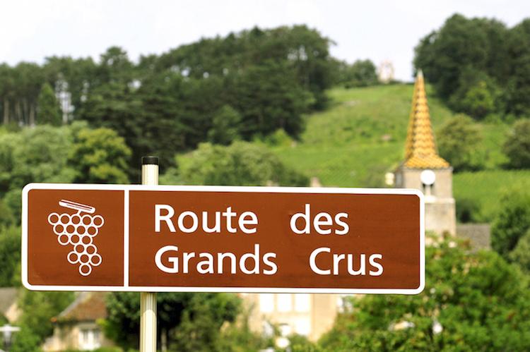Route des grands crus Bourgogne Alain Doire