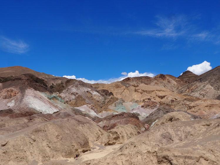 Roadtrip route Death Valley tips Zabrinskie Point