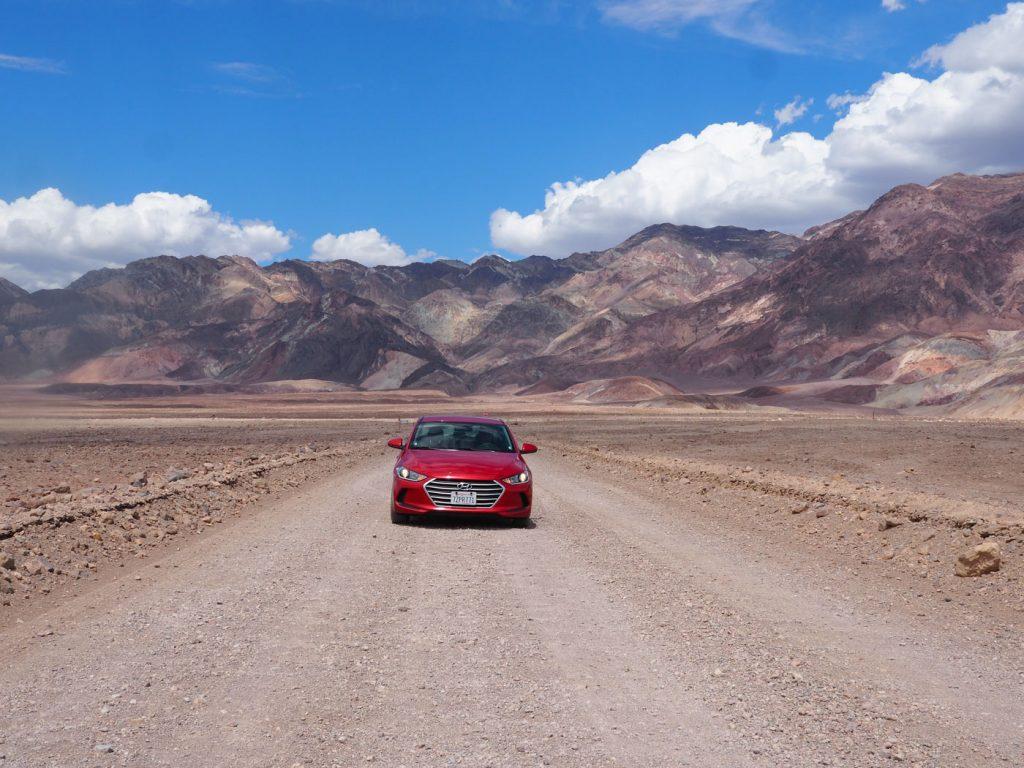 Route door death valley rijden tips bezienswaardigheden