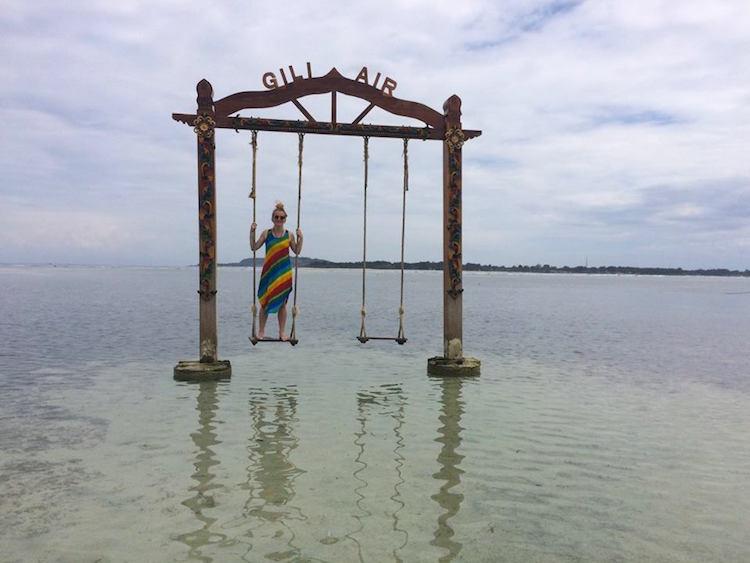 Roxanne in Indonesie alleen backpacken