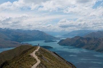Roys Peak wandeling Nieuw Zeeland Zuidereiland