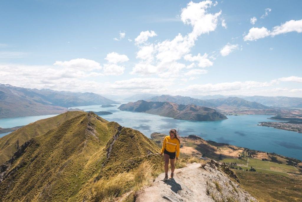 Roys peak wandeling zuidereiland viewpoint top