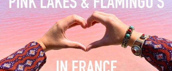 Roze Meer Frankrijk Pink Lakes France Flamingos Aigues Mortes WEARETRAVELLERS Youtube