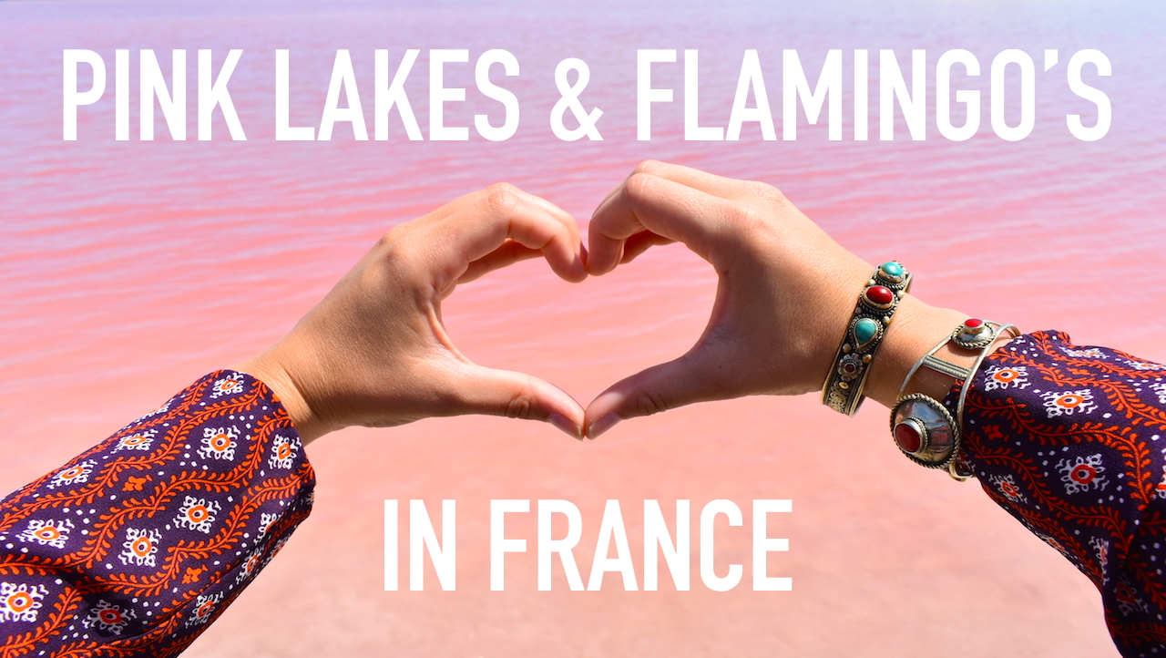 Roze Meer Frankrijk Pink Lakes France Flamingos Aigues Mortes WEARETRAVELLERS Youtube