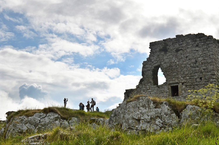 Kastelen in Ierland Dunamase