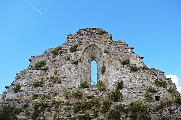ruines en Irlande de l'est