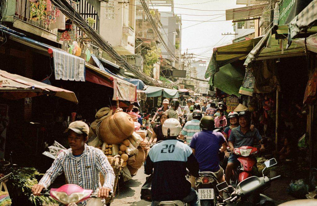 Saigon Vietnam district 4