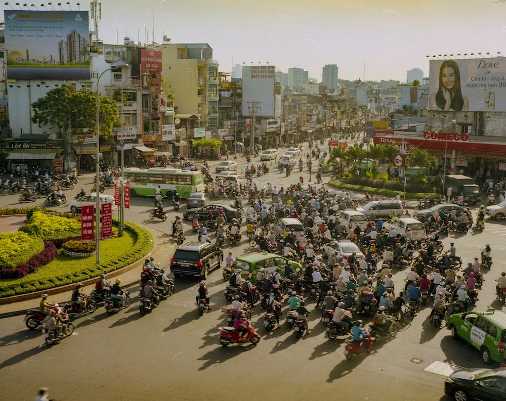 Saigon vietnam Verkeer