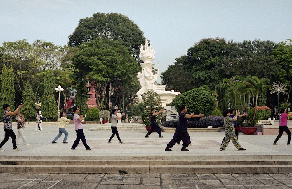 Saigon vietnam Vo van Tam park