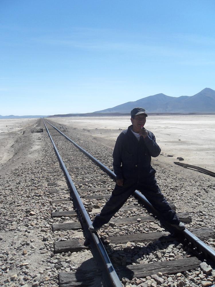 Salar de Uyuni trein bolivia 10 Iris Timmermans