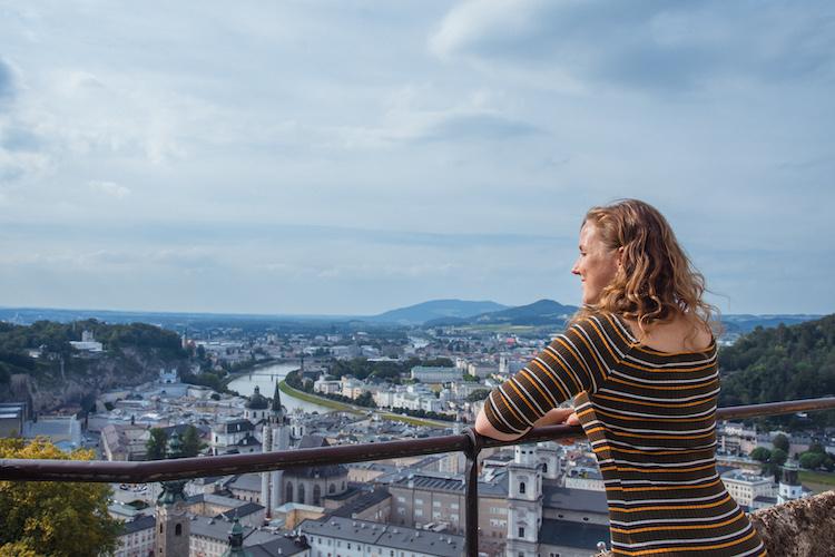 Salzburg oostenrijk zomer stedentrip