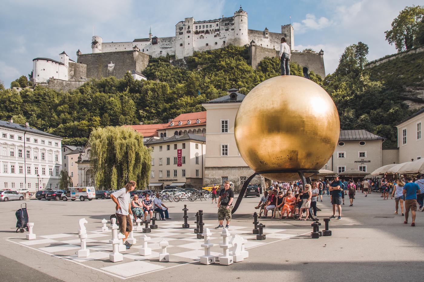Salzburg stedentrip zomer