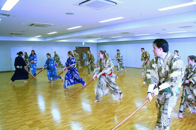 Samurai workshop in tokyo japan
