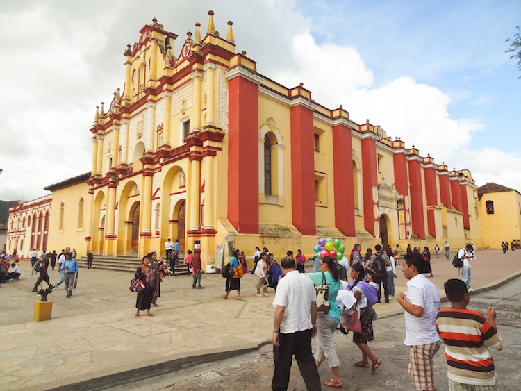 San Cristobal de las Casas mexico Cathedral of St. Christopher