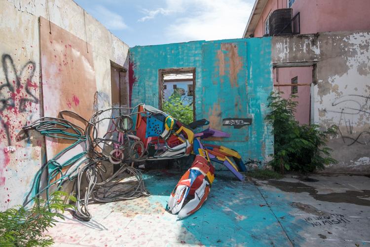 San Nicolas Aruba Street art krab