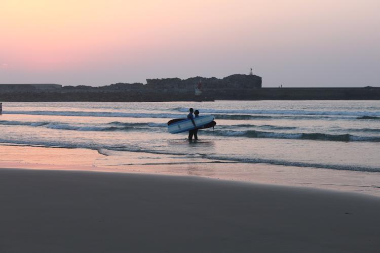 San Vicente surfen surf roadtrip