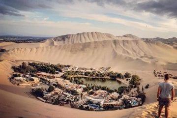 Sandboarden Huacachina Peru