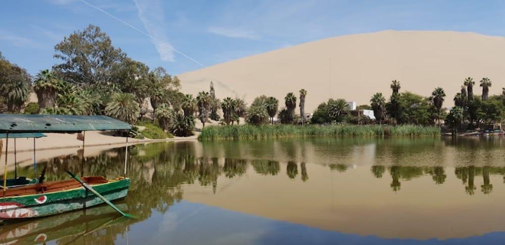 Sandboarden Huacachina Peru oase