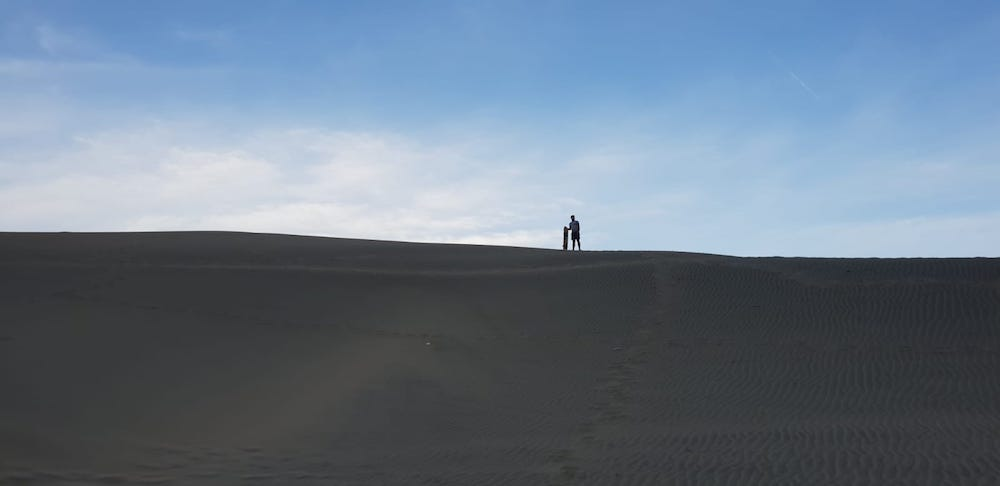 Sandboarden Huacachina Peru woestijn