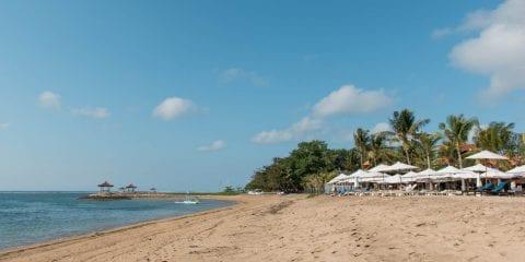 Sanur Bali strand