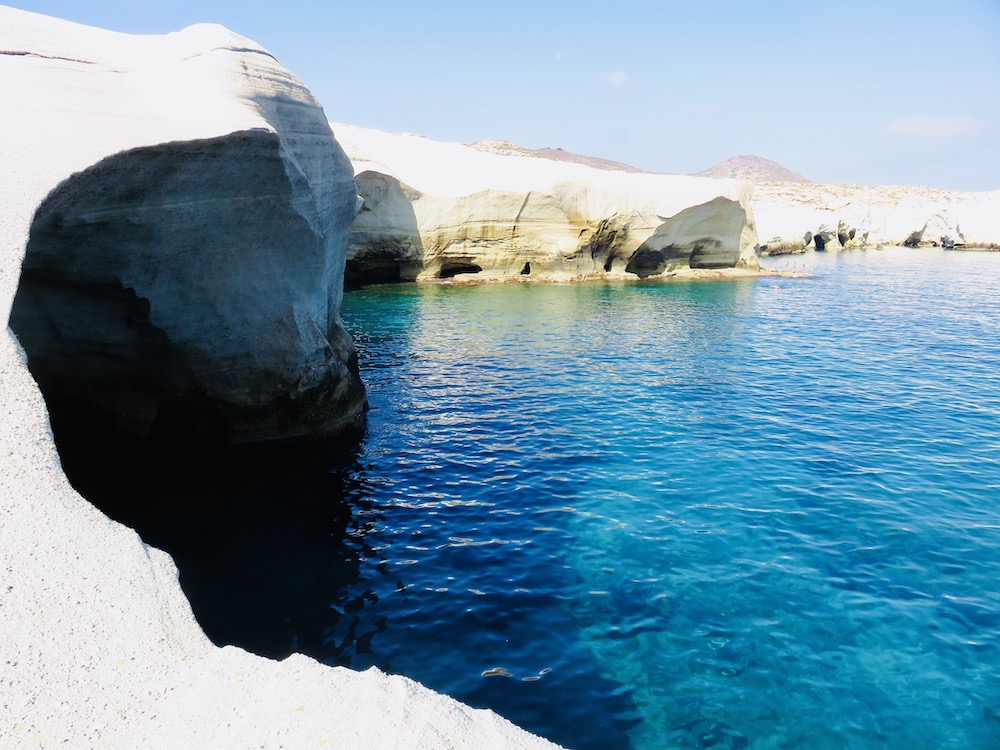 Sarakiniko Milos, Cycladen