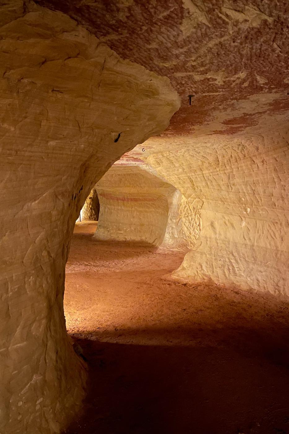 Schlossberghöhlen grotten saarland