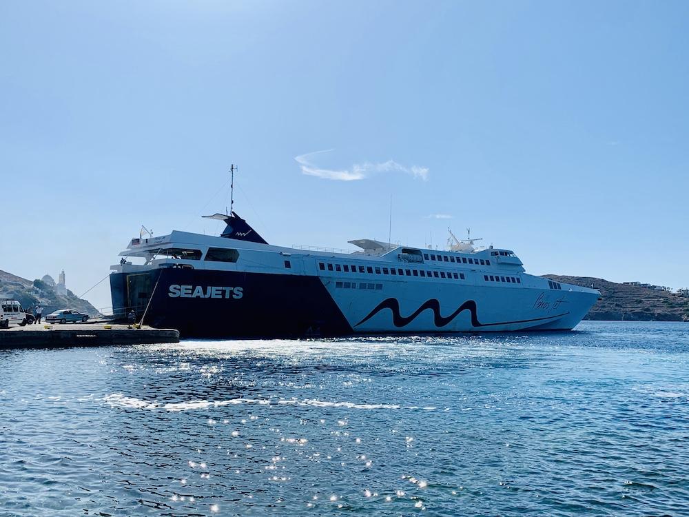 Eilandhoppen Cycladen met Seajet Ferry's