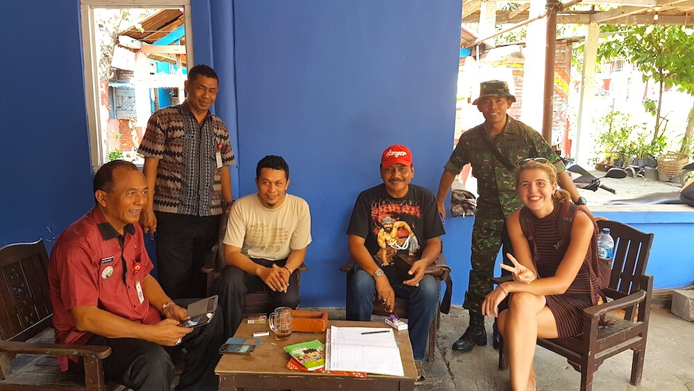 Semarang locals gastenboek