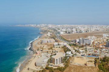 Senegal Dakar uitzicht