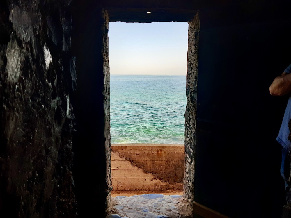 Senegal Ile de goree point of no return